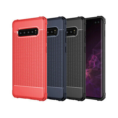 Solid Gel Case Cover For Samsung Galaxy S10 S9 Plus Shock Absorbing Corners 4