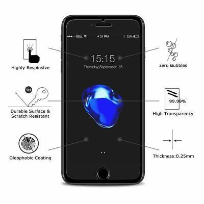 vitre verre trempe film de protection iPhone 11/11 Pro Max/XS/XR/X 8 7 6 LOT/5 12