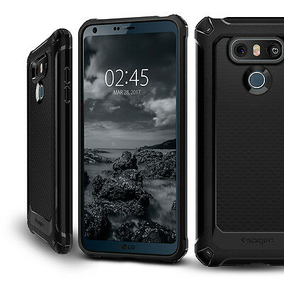 best cheap 185e5 d4a6f SPIGEN® FOR LG G6 [Rugged Armor Extra] Slim Shockproof Protective TPU Case  Cover