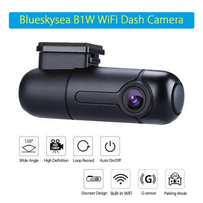 Blueskysea B1W 1080P Mini WiFi App IMX323 Dash Camera Capacitor Car DVR Vehicle 12