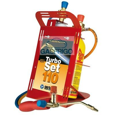 Kit Cannello Saldatura Turbo Set 110 Ossigeno / Map Saldatura Barrette 2