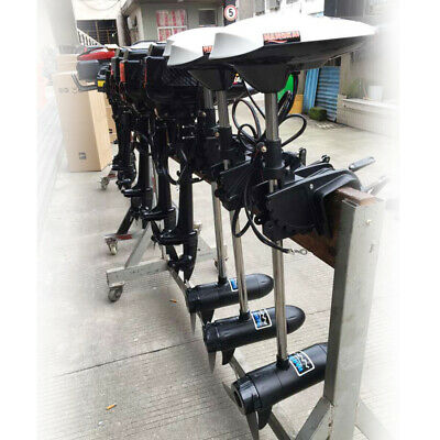 65LBS Outboard Motor Engine Electric Trolling Motor for Fishing Boat Heavy Duty 5
