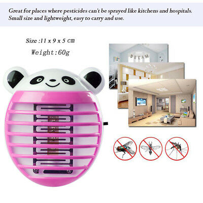 LED Socket Electric Mosquito Fly Bug Insect Killer Zapper Night Lamp Light C 11