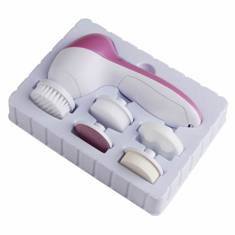 FACIAL DEEP CLEAN Spa Washing Machine Soft Brush Spin Face Cleanser Lift  Massage