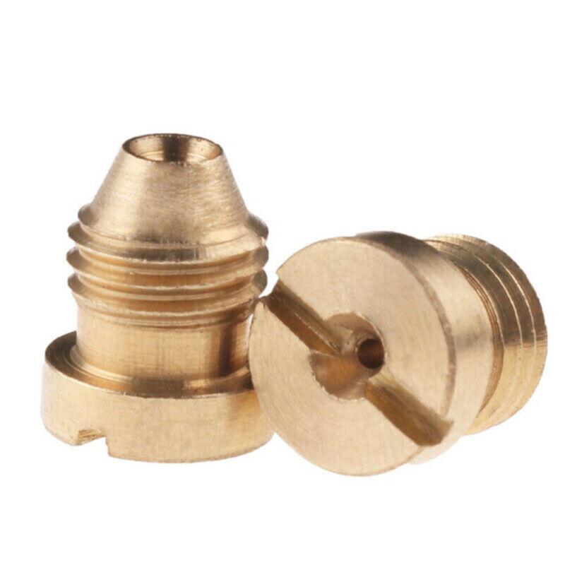 1.1/1.25mm Foam Cannon Orifice Nozzle Tips Thread Nozzle For Snow Foam Lance JT 7