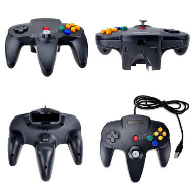 New Nintendo 64 N64 Games Classic Gamepad Controllers For Usb To Pc/Mac 4