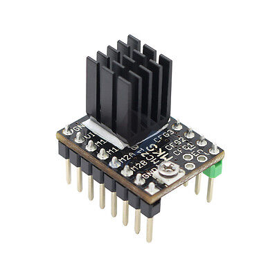3D PRINTER MOTOR Drive Anycubic TMC2100 Stepper Motor Driver with free Heat  Sink