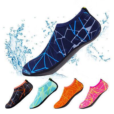 Unisex Adult Kids Barefoot Water Skin Shoes Aqua Socks Beach Swim Surf Yoga GEMS 2