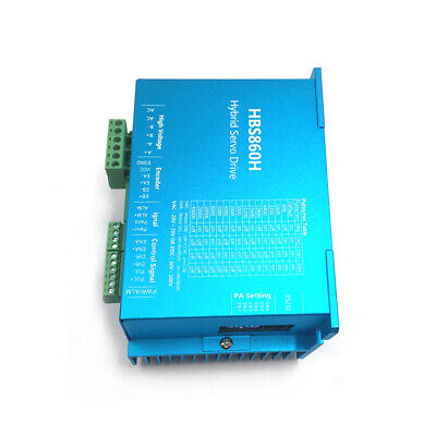 3Axis DSP Closed Loop Stepper Motor 2pc 8.5Nm+1pc 12Nm Drive Nema34+Power Supply 11