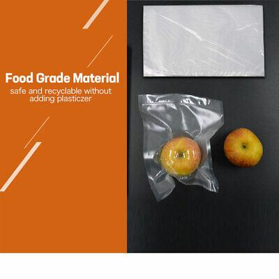 100 X Vacuum Sealer Bags Precut Food Storage Saver Heat Seal Cryovac 3 Size 3