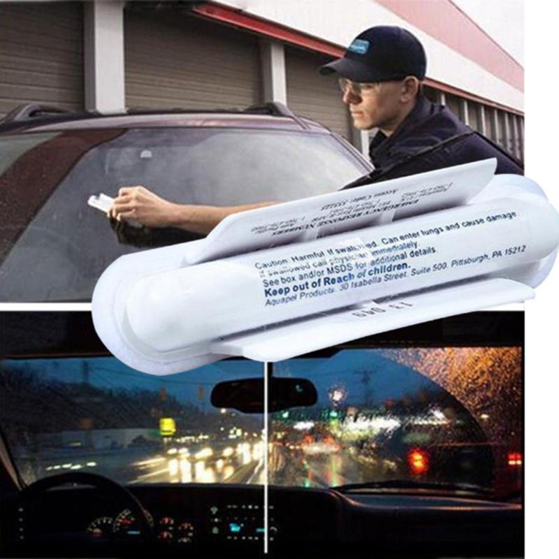 AQUAPEL Applicator Windshield Glass Treatment Water Rain Repellent Repels Hot 2