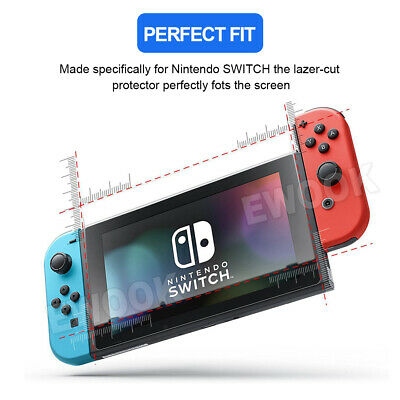2 X EWOOK Nintendo Switch Tempered Glass Screen Protector for Nintendo Switch 6