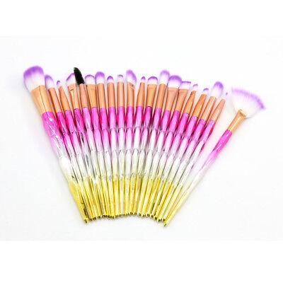 Professional Make up Brushes Set Eye Shadow Eyebrow Makeup Kit Cosmetic Tools UK 5