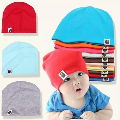 Fashion Beret New Born Cotton Girl Kids Children Boy Soft Cap Baby Beanie Hat