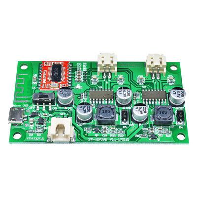 AD828 stereo dynamic microphone preamplifier board mic preamp DC 3.7-15V 12CRH