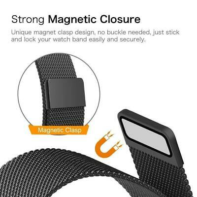 Milanese Loop Strap Watch Replacement Band Fit For Apple Watch Series 1/2/3/4 4