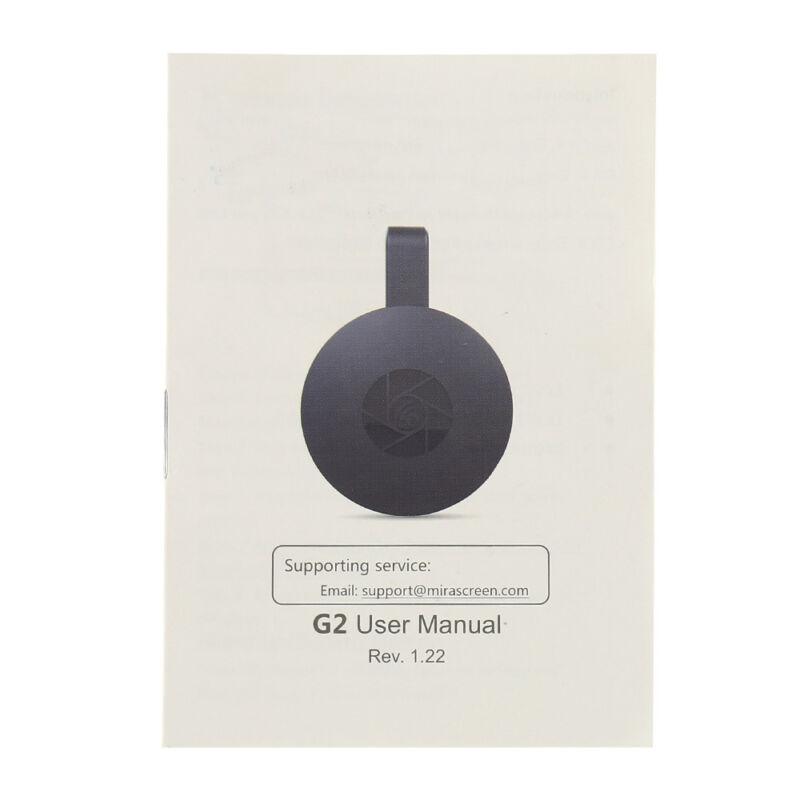 pour Google Chromecast 2 4K HDMI WiFi Media Vidéo Dongle youtube Miracast 8