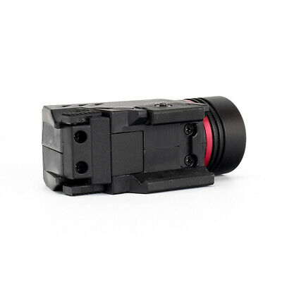 Combo Pistol LED Flashlight Red Laser Sight Fits 20mm Rail Pistol-Rifle 5