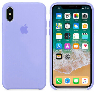 Original Silicone Leather Case For iPhone XR XS Max 6 7 8 Plus Genuine OEM Cover 3