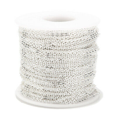 2MM Stainless Steel Cable Chain Link in Bulk for Necklace Jewelry Accessories 3