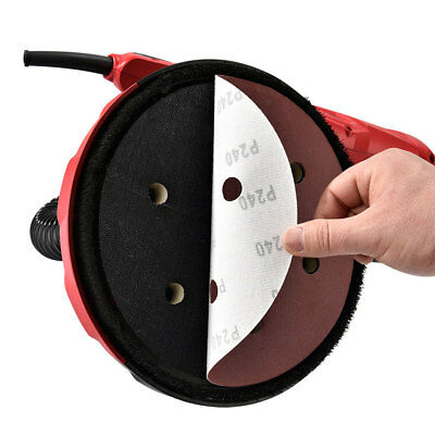 US 750W Drywall Sander Extendable Electric Sheetrock Sanding Pad W/LED Lamp 110V 5