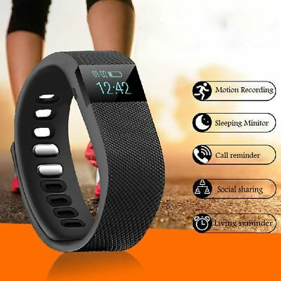 Fitness Activity Tracker Pedometer TW64 Smartband Bracelet Watch IOS Android 3