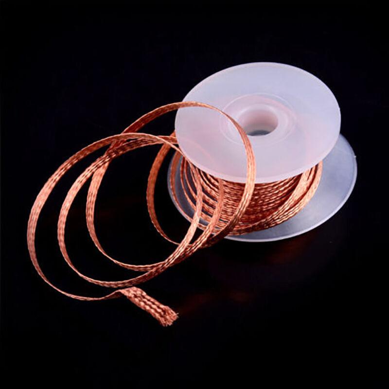 3.5mm Desoldering Braid Solder Remover Spool Copper Wick 5 ft 1.5m