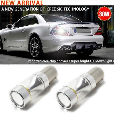2x CREE 1156 Hohe Energie LED Auto Bremslicht Rücklicht Licht Lampe Birne Weiß