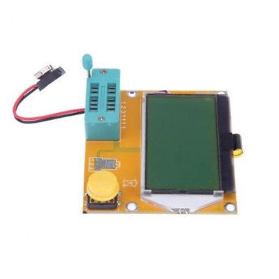 Digital LCR-T4 ATmega328 Transistor 12864 LCD Capacity ESR Meter+Case L2KS