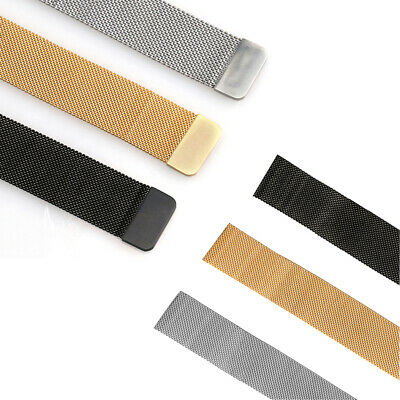 For Apple Watch Series 4 40mm 44mm Magnetic Milanese Loop Band Stainless Steel 5