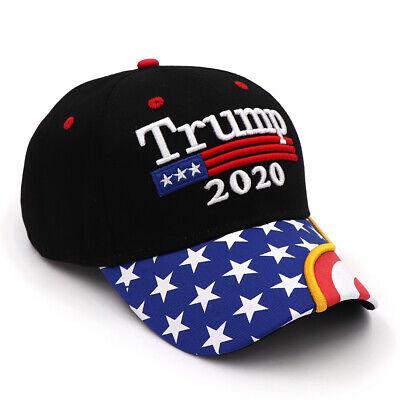 US President Donald Trump 2020 USA Flag Baseball Cap Hat Make America Great Bu 3