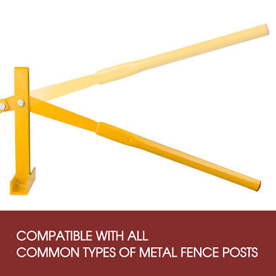 AU New Fence Post Lifter Puller Remover Star Picket Steel Pole Tool High Quality 2