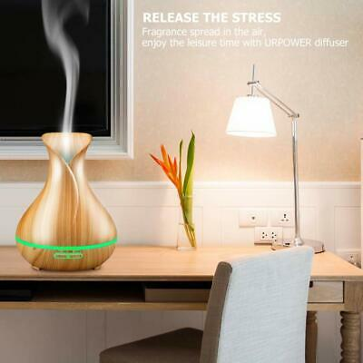 LED Ultrasonic Essential Oil Aroma Diffuser Aromatherapy Air Humidifier AU Stock 11