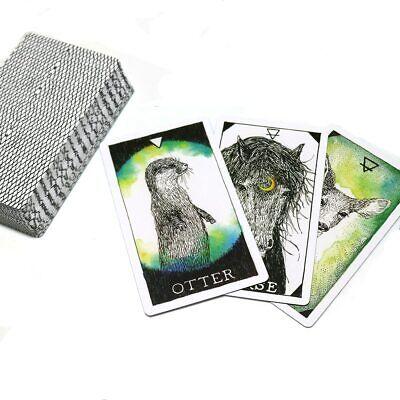 63pcs Tarot Cards Soul Spirit Deck Arrival Animal  English Divination Board Game 4
