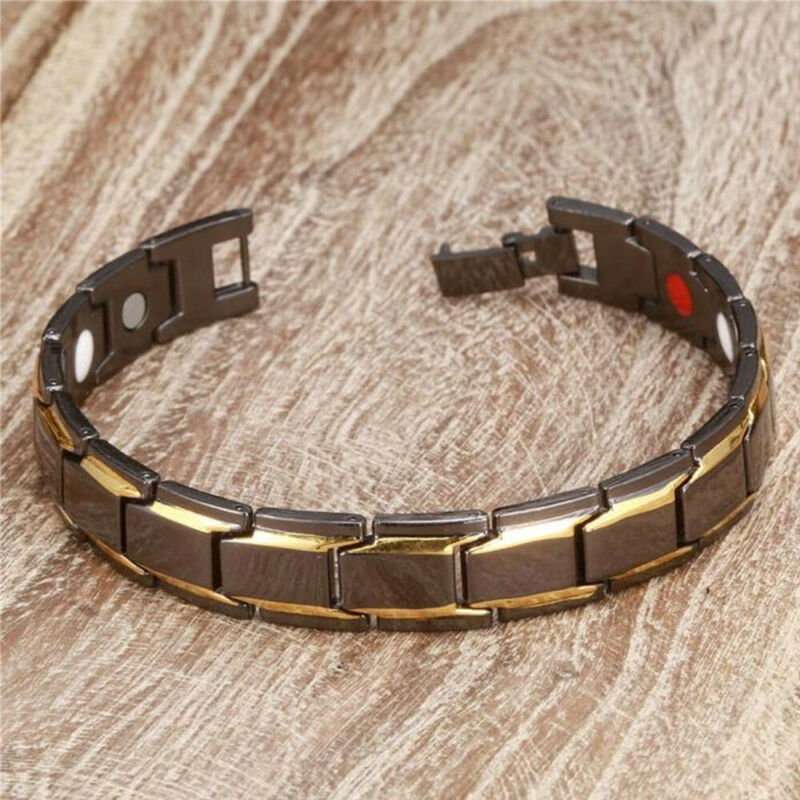 Therapeutic Energy Bracelet - Magnet Therapy Bracelet Health Care (Men Style) 5