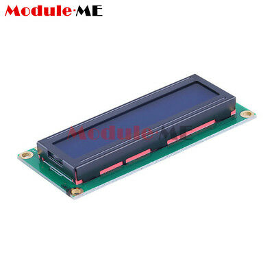 1/2/5/10X 1602 16x2 Character LCD Display Module HD44780 Controller Blue Arduino 5