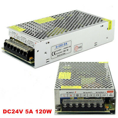 AC 110-240V TO DC 12V/24V 5A/10A/15A/20A/30A Transformer Regulated Power Supply 11