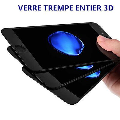 iPhone 8/7/6S/6/PLUS XR X XS MAX VITRE VERRE TREMPE 3D Film Protection Intégral 4