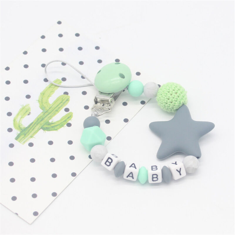 Baby Silicone Pacifier Chain Teething Soother Chew Toy Dummy Clips New Hot 11
