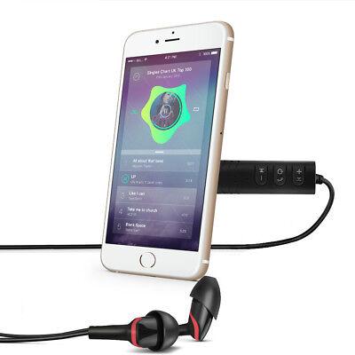 Mini Wireless Bluetooth Car Kit AUX Audio Receiver Hands free 3.5mm Jack New HOT 10