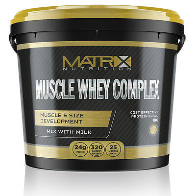 Muscle Whey Complex - Protein Shake - All Flavours All Sizes By Matrix Nutrition 5