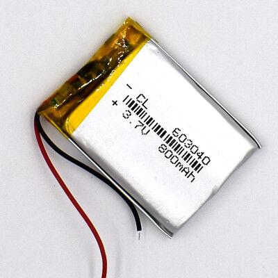 10pcs 3.7V 800mAh 603040 LiIon Li-Polymer Rechargeable Battery LiPo Cell for GPS 8
