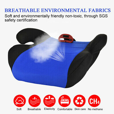 Car Booster Seat Chair Cushion Pad For Toddler Children Kids 3-12 Years Sturdy 5
