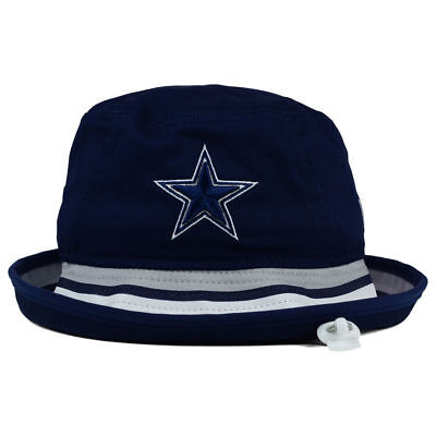 ... Dallas Cowboys NFL Team Stripe Bucket New Era Training Camp Men s  Floppy Hat Cap 3 75eea135b
