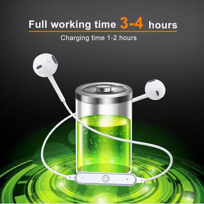 4.2Wireless Bluetooth Earphone Headphone Headset Sports Stereo For All Phones CA 3