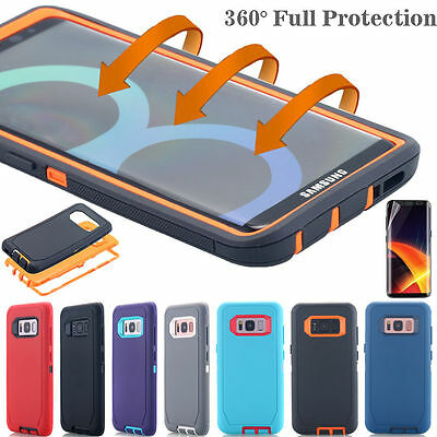 Samsung Galaxy S10+ S9 Note 8 9 Case Shockproof Hybrid Rubber Armor Rugged Cover 12