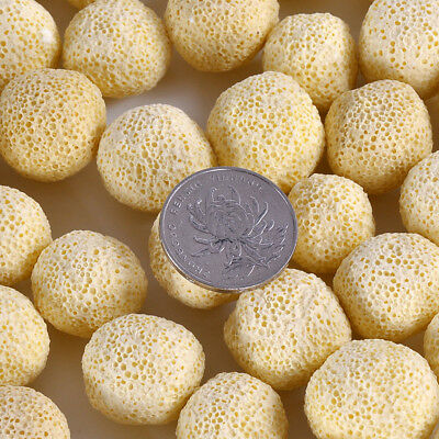 40Pc Aquarium Porous Ceramic Filter Media Net Bag Biological Ball Fish Tank US 4