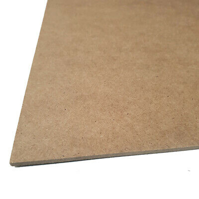 """MDF Backing Board Panels for Framing, Art, Painting - 10 x 8"""" PACK OF 10 3"""