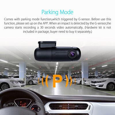 Blueskysea B1W 1080P Mini WiFi App IMX323 Dash Camera Capacitor Car DVR Vehicle 8