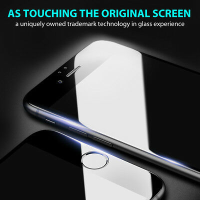 Apple iPhone XS Max XR 8 7 6s Plus 5D Full Cover Tempered Glass Screen Protector 6